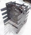 Мангал Компакт вертикальный 3мм сталь