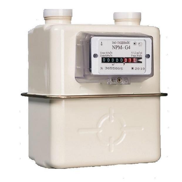 Счетчики газа бытовые «Гелиос» G4