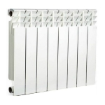 Радиатор отопления алюминиевый ASTRA Comfort 350 12 секций