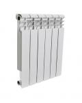 Радиатор отопления алюминиевый  Rommer Profi 350   6 секций