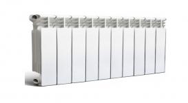 Радиатор отопления алюминиевый Rommer Plus 200 10 секций